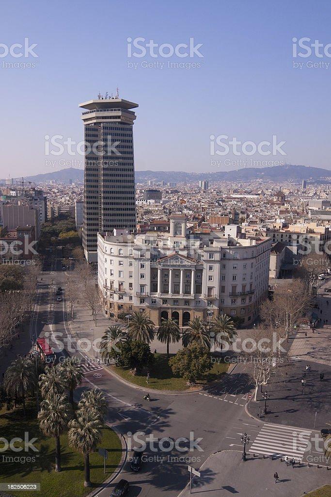 Ramblas Barcelona Spain royalty-free stock photo