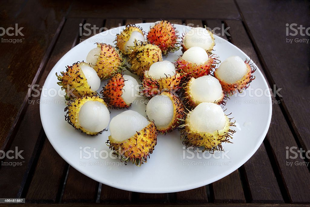 Rambutan Fruit royalty-free stock photo