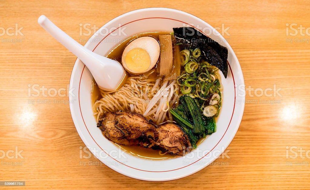 Ramen from Kyoto, Japan stock photo