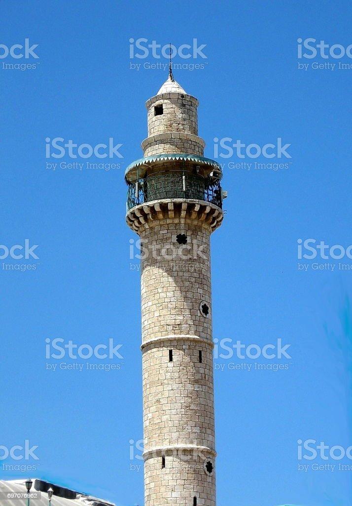 Ramla minaret 2007 stock photo