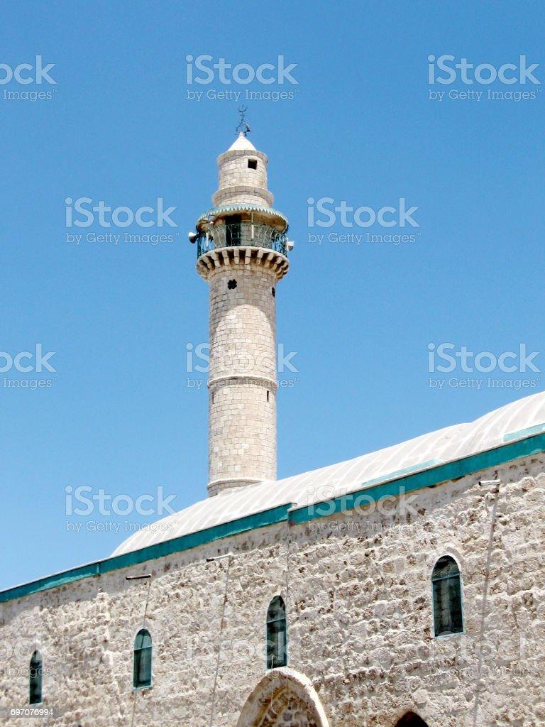 Ramla The Great Mosque 2007 stock photo