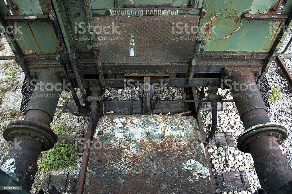 ramming support stock photo