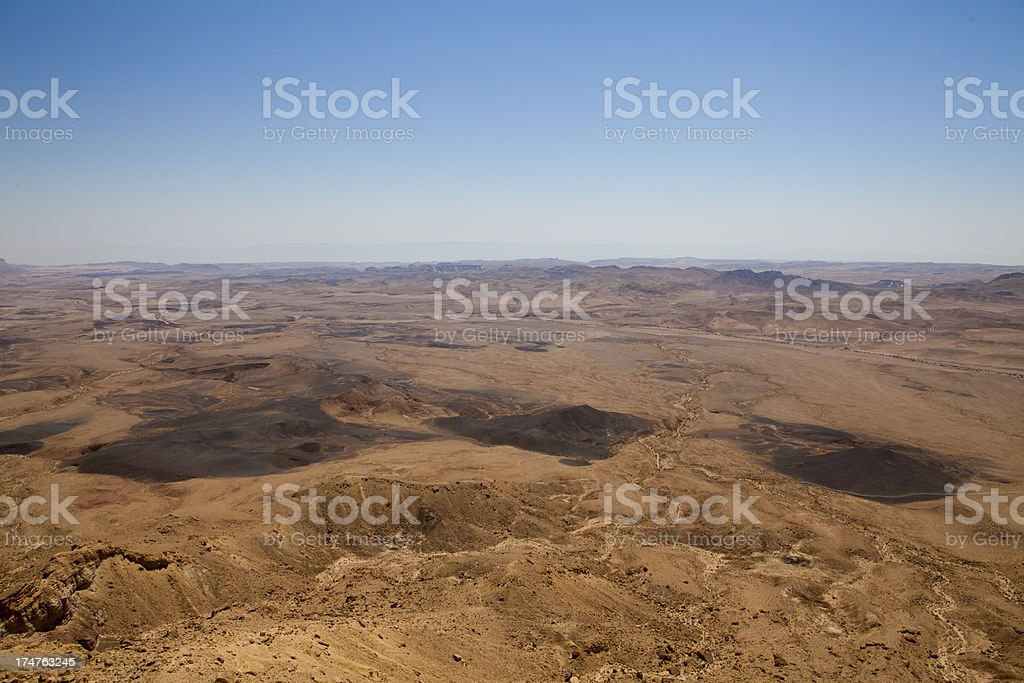 Ramon Crater royalty-free stock photo