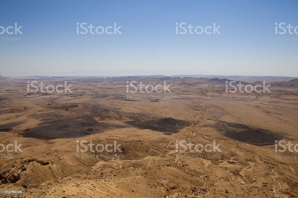 Ramon Crater stock photo