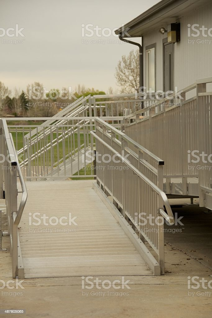 Ramp Access stock photo