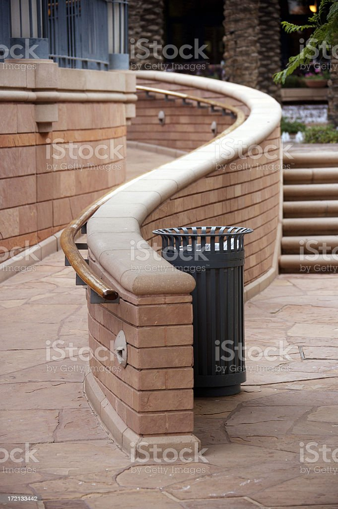 Ramp and Stairs royalty-free stock photo