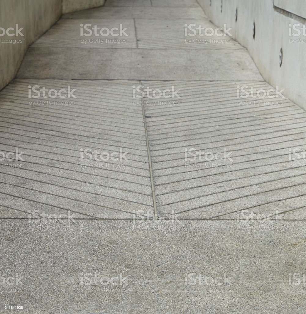 Ramp stock photo