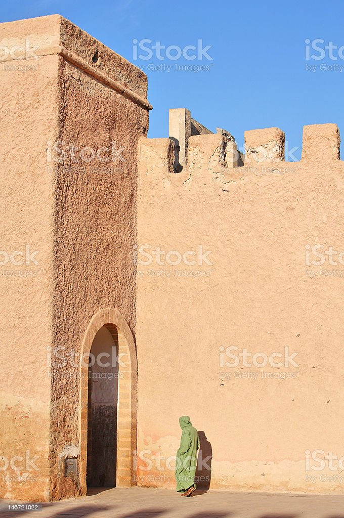 Ramparts in Essaouria royalty-free stock photo