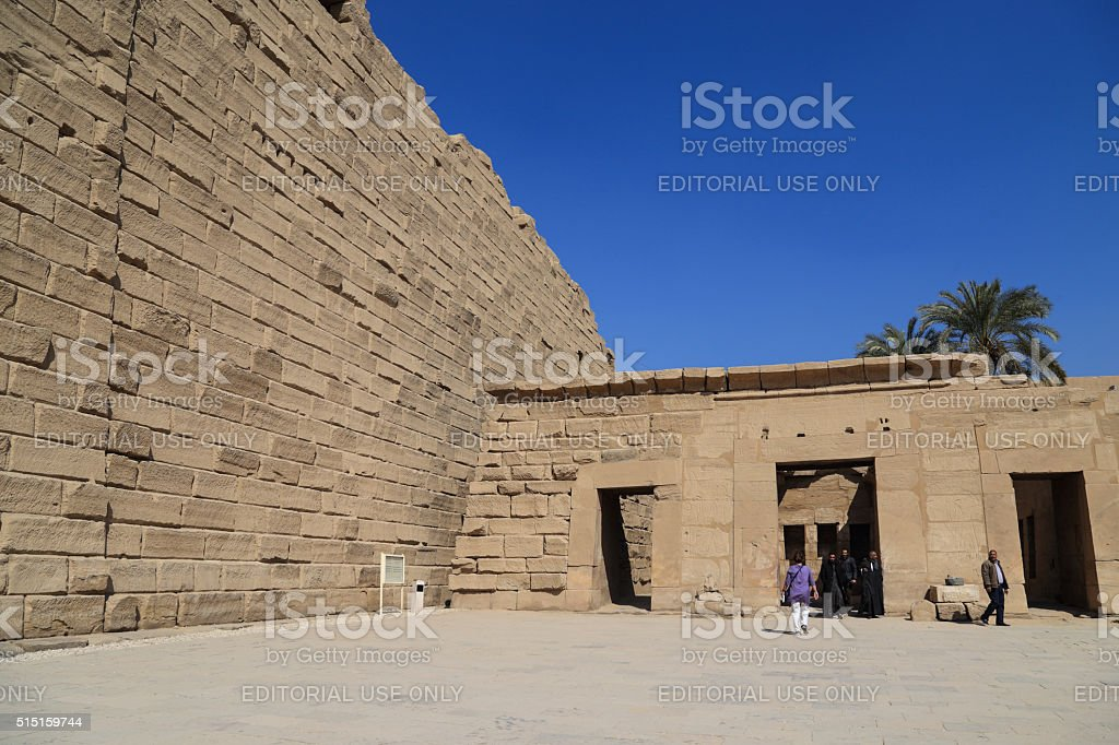 Ramses and family tomb,in Egypt stock photo