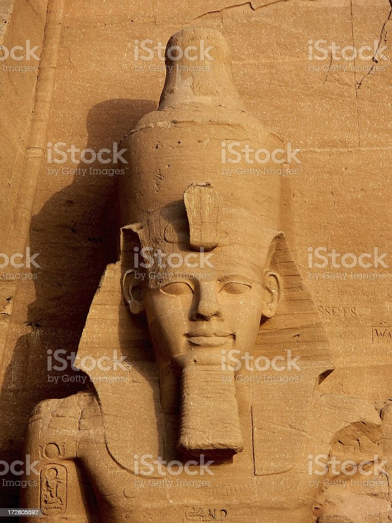 Ramses II royalty-free stock photo
