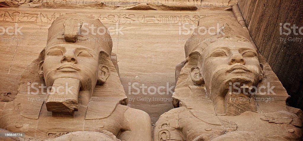 Ramses II royalty-free stock photo