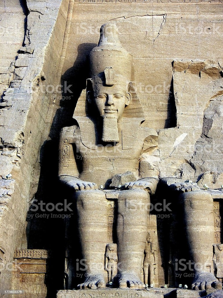 Ramses II statue royalty-free stock photo