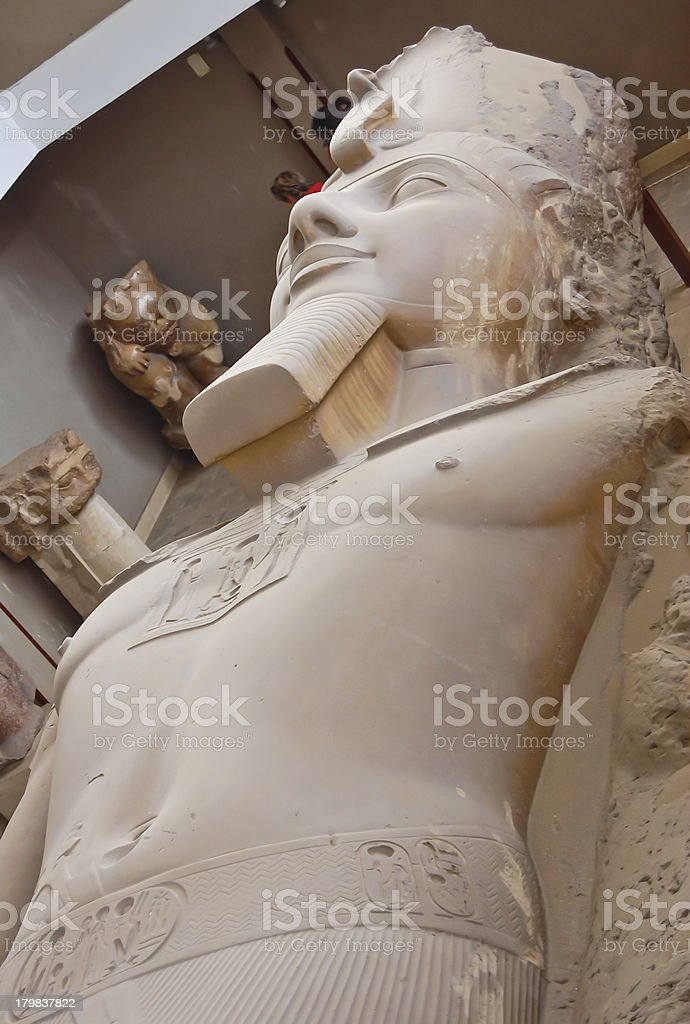 Ramses II statue royalty-free stock photo