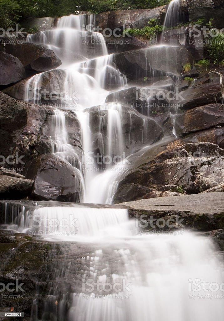 Ramsey Cascades royalty-free stock photo