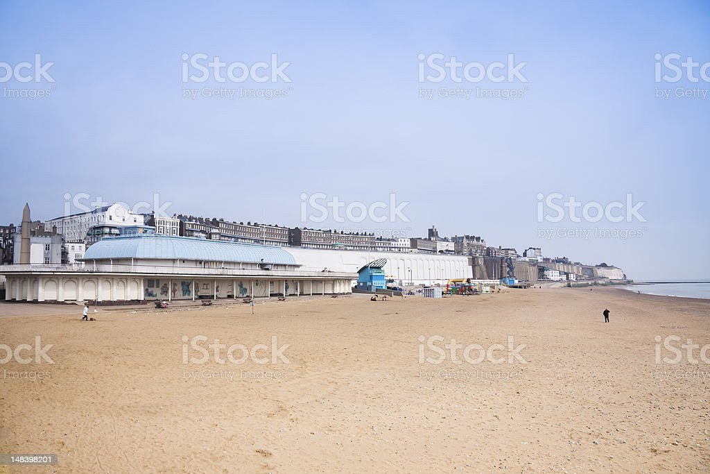 ramsgate golden sand beach kent england royalty-free stock photo