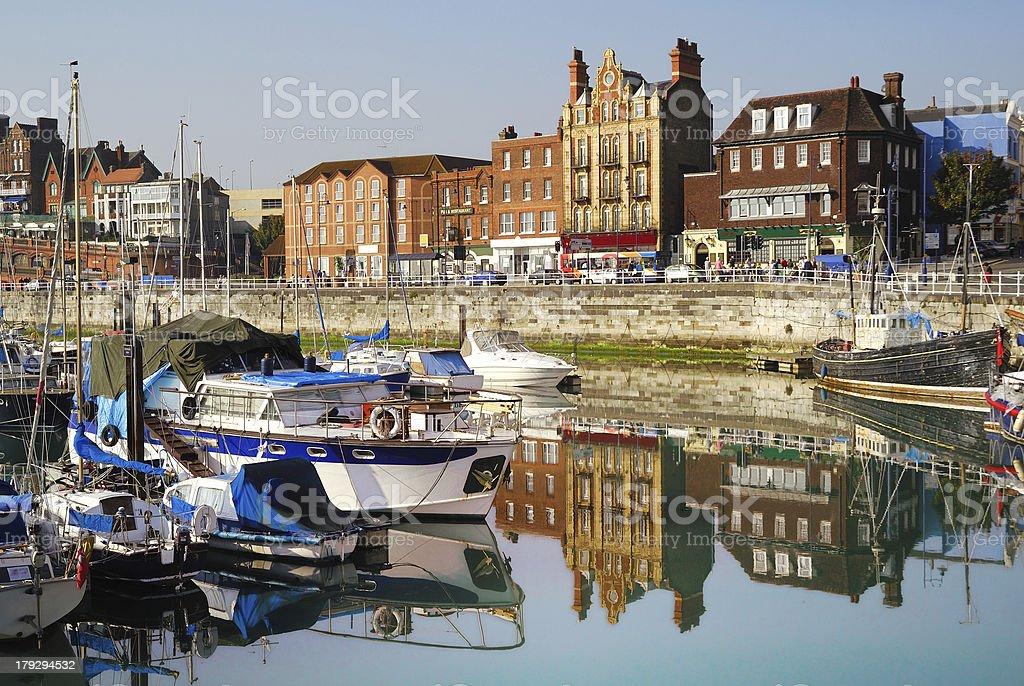 Ramsgate seafront royalty-free stock photo