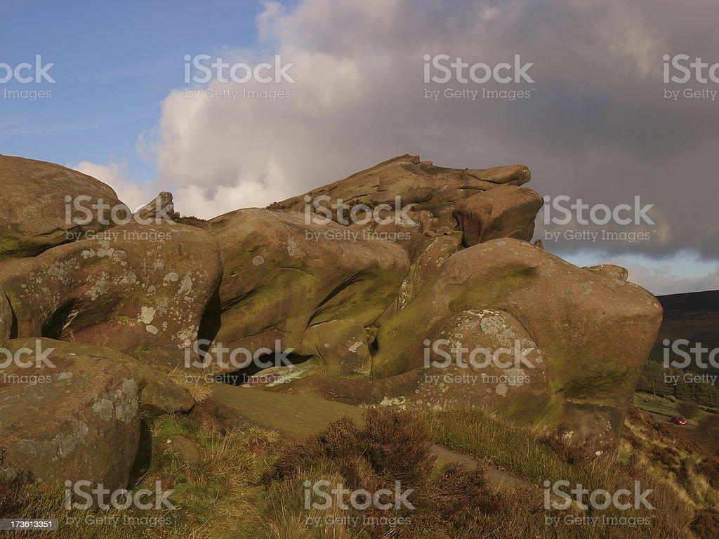 Ramshaw Rocks stock photo