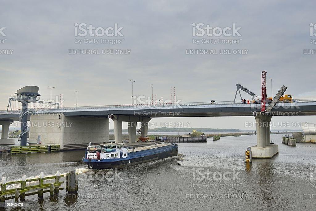 Ramspol bridge royalty-free stock photo