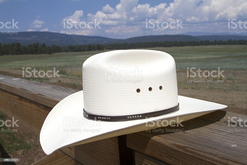 Ranch Hat royalty-free stock photo