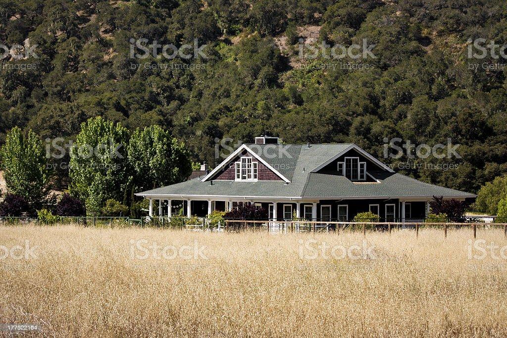 Ranch House stock photo