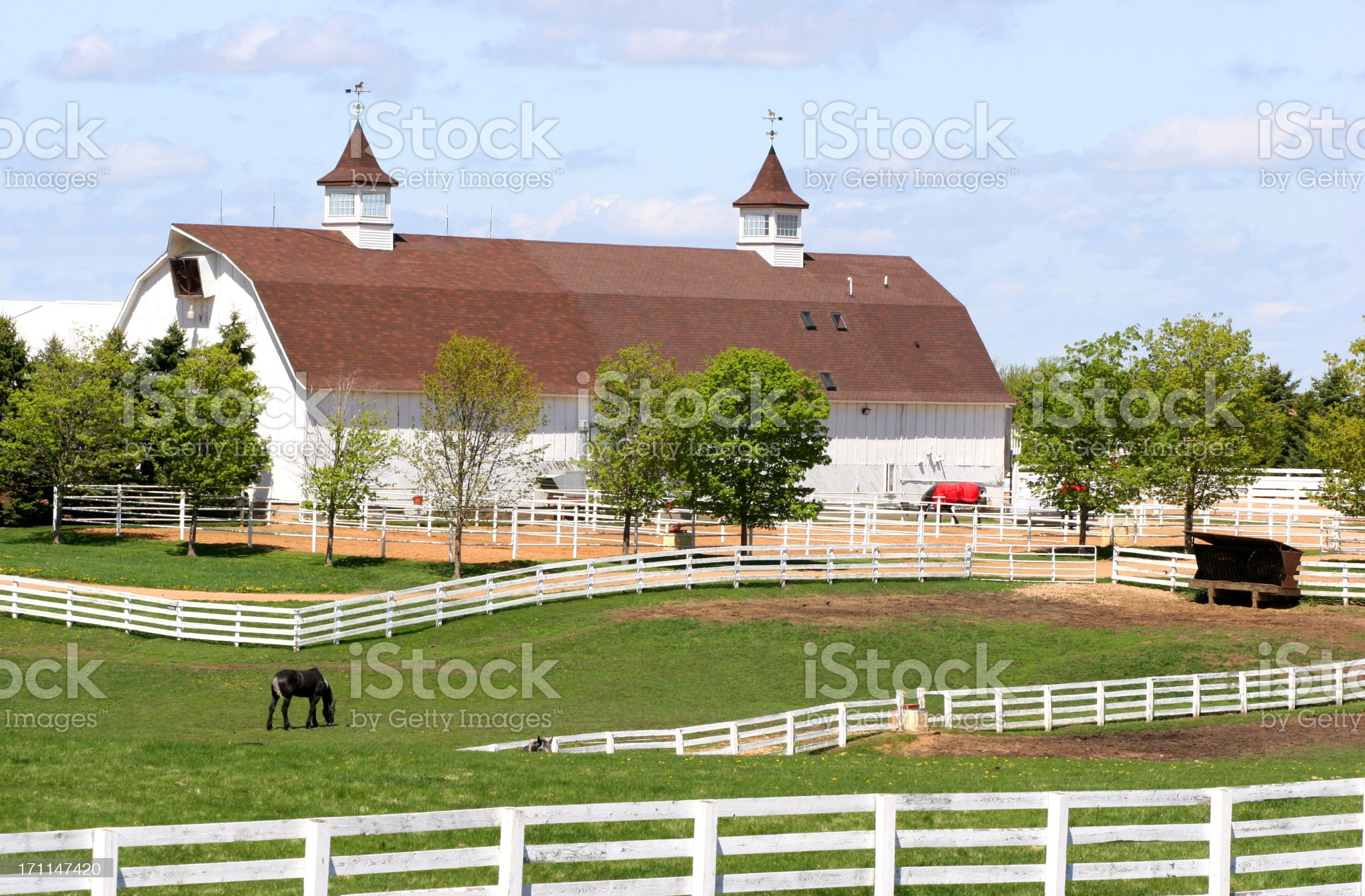 Ranch royalty-free stock photo