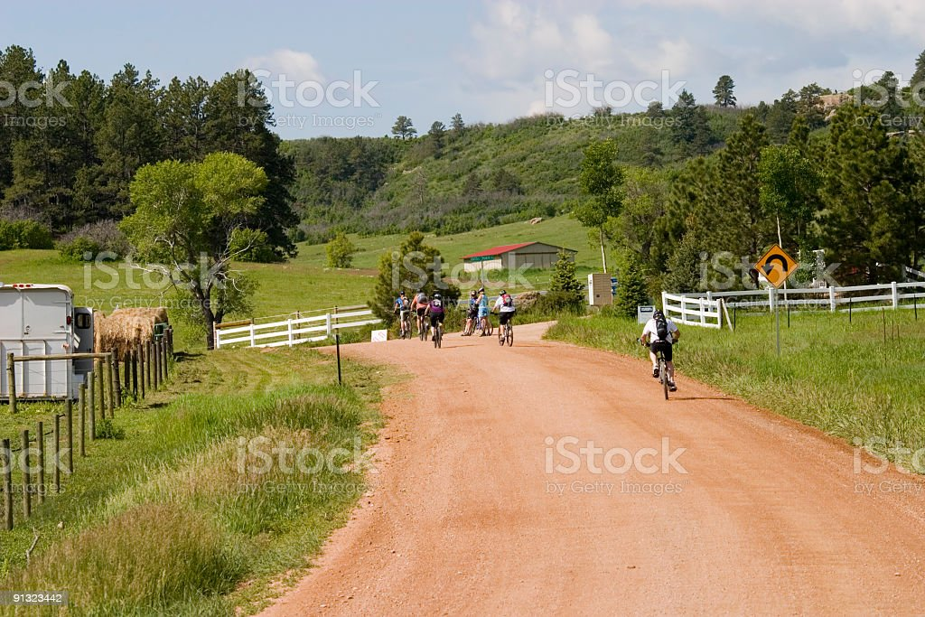 Ranch Riders royalty-free stock photo