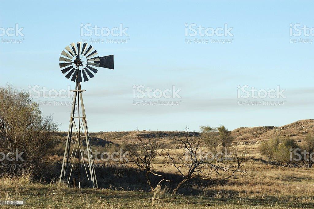 Ranch Windmill royalty-free stock photo