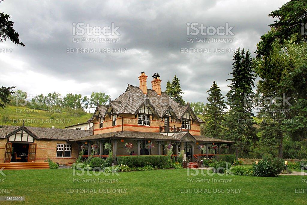 Ranche House stock photo