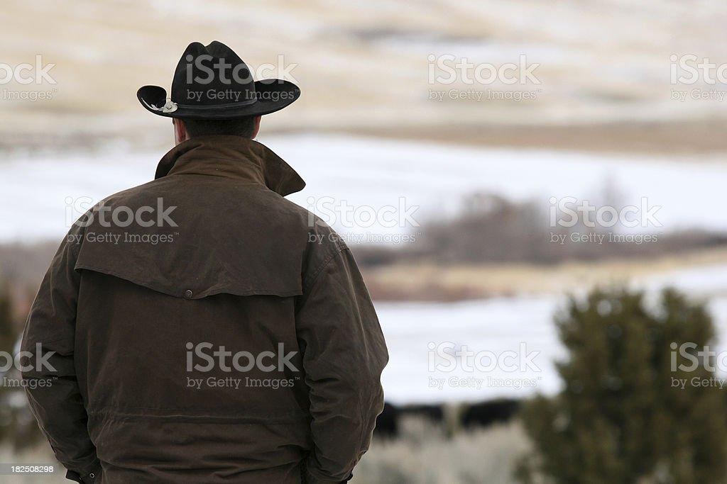 Rancher royalty-free stock photo