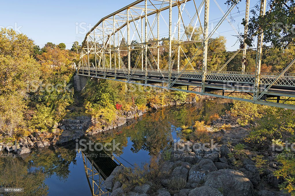 Rancho Murietta Bridge royalty-free stock photo