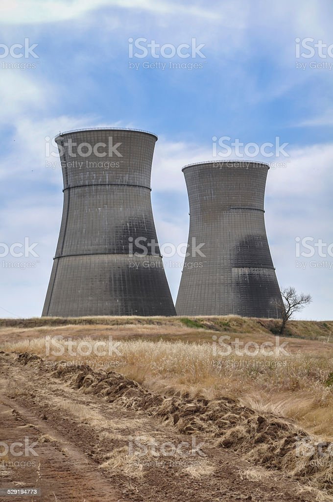 Rancho Seco - Nuclear Power Plant stock photo