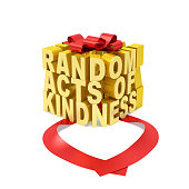 Random acts of kindness day (creative concept)