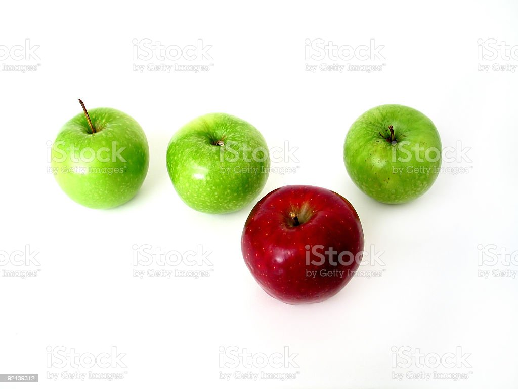 Random Apples royalty-free stock photo