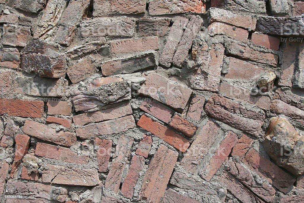 Random bricks #2 royalty-free stock photo