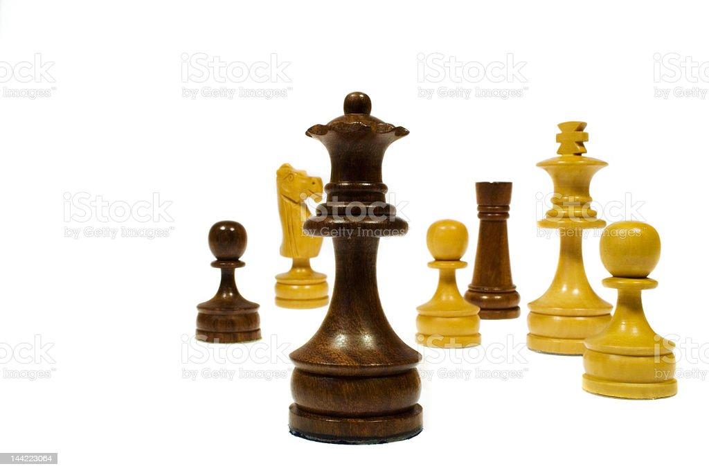 Random Chess stock photo
