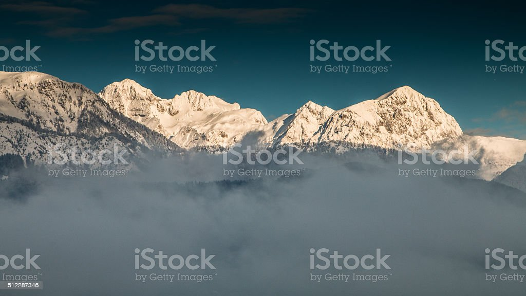 moutain range stock photo