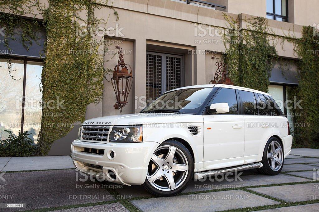Range Rover 2006 stock photo