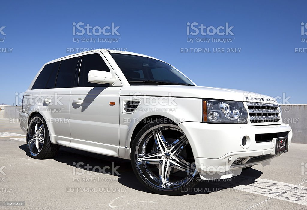 Range Rover 2008 stock photo
