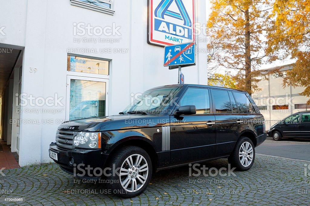 Range Rover Discovery stock photo