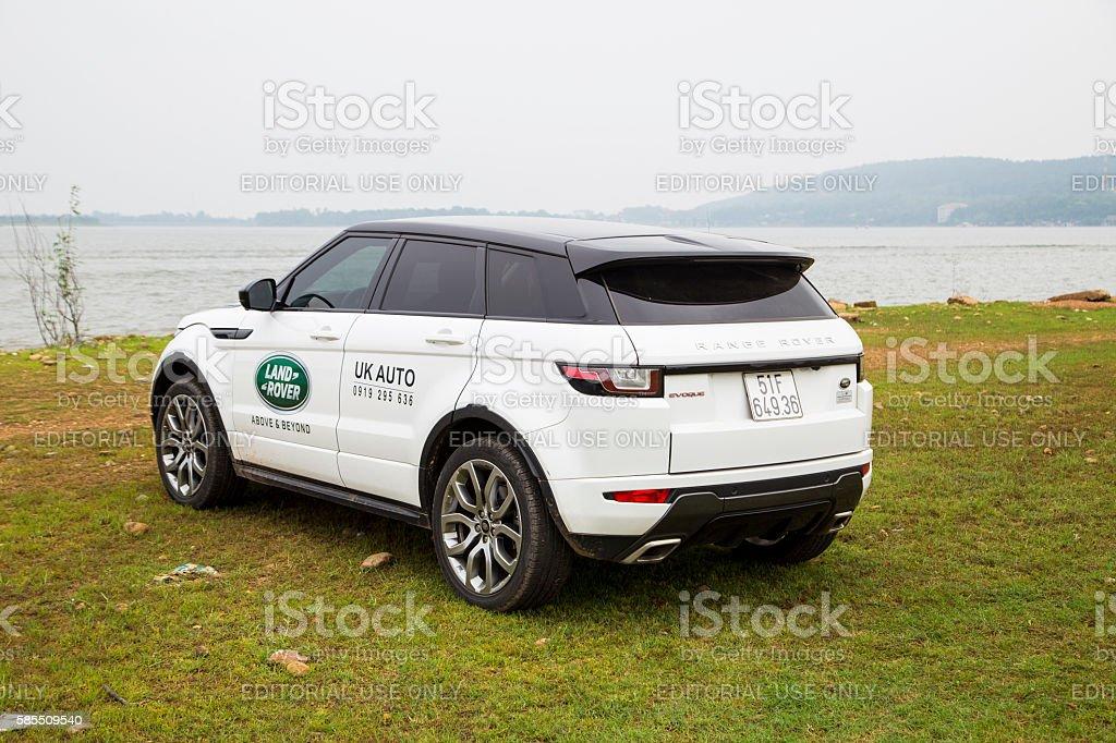 Range Rover Evoque 2016 car stock photo