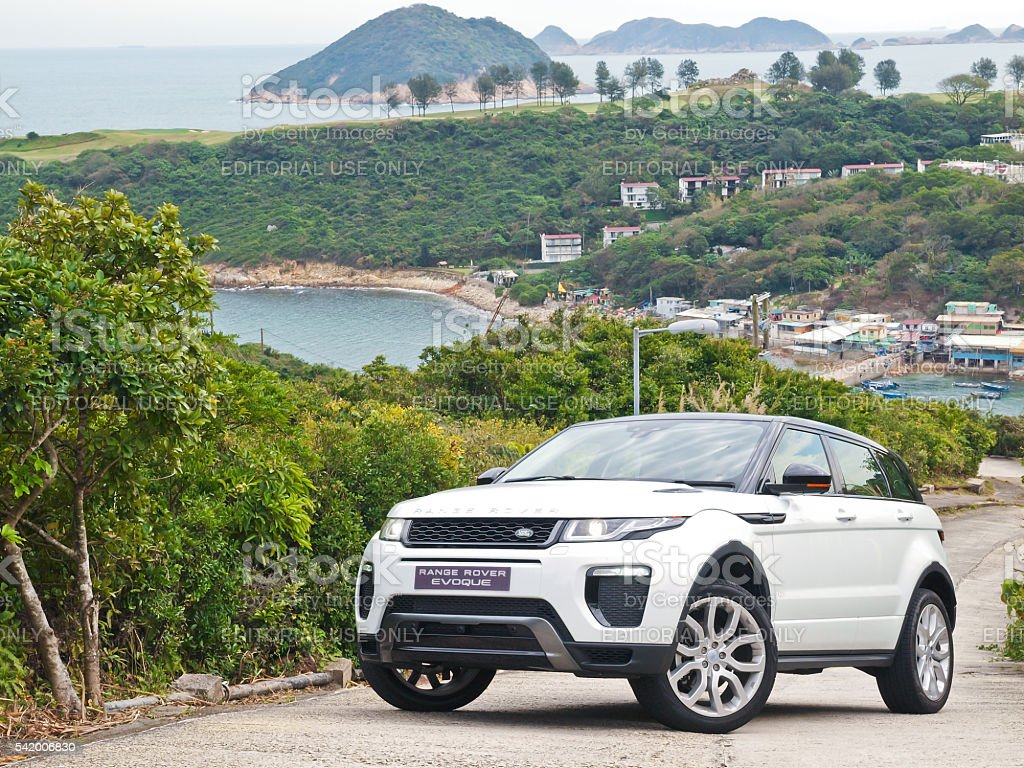 Range Rover Evoque 2016 Test Drive Day stock photo