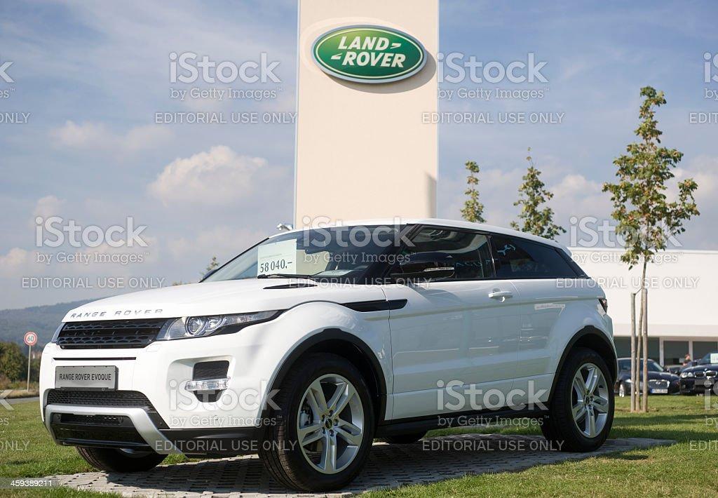 Range Rover Evoque stock photo
