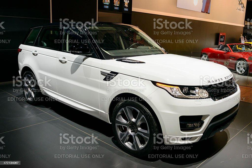 Range Rover Sport stock photo