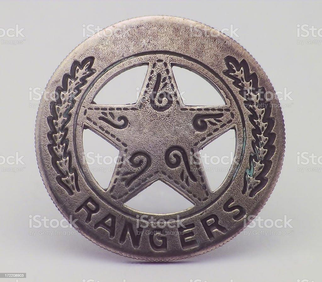 Ranger Badge royalty-free stock photo