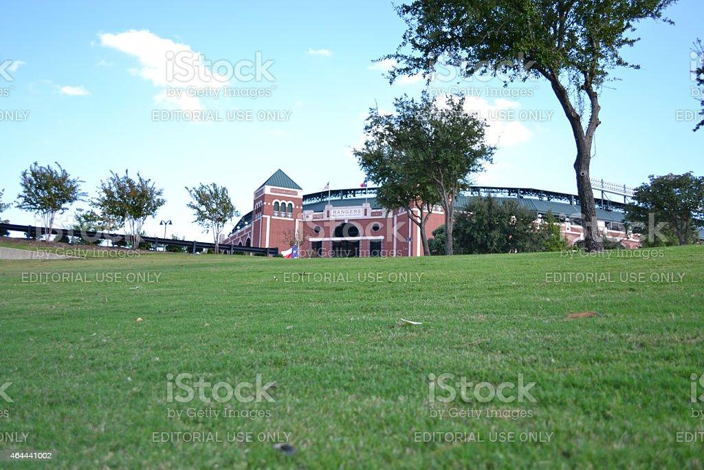 Rangers Ballpark stock photo