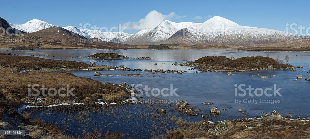 Rannoch Moor royalty-free stock photo