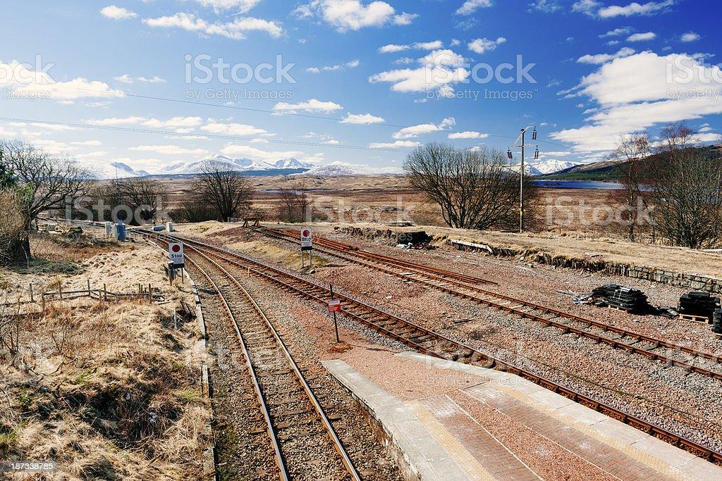 Rannoch Moor, Scotland stock photo