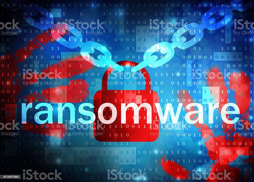 ransomware stock photo