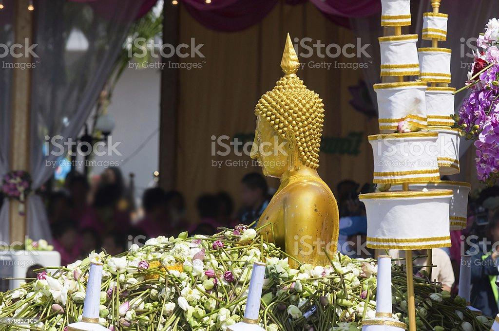 Rap Bua Festival in Thailand stock photo