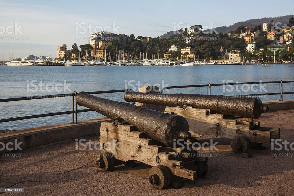 Rapallo, Italy stock photo